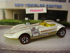 Hot Wheels Since 68 Twin Mill ∞White & Gold; Redlines∞New Loose∞Hw Originals
