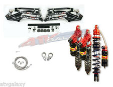 Houser XC Arms Elka Legacy Long Travel Front Rear Shocks Suspension Raptor 700