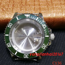 41mm Bliger SS Watch Case Fit ETA 2836DG2813/3804Miyota 8215 Movement C136