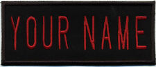 """Custom Ghostbusters 2 Style Name Tag Patch with a HOOK backing - """"YOUR NAME"""""""