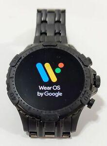 Fossil - Gen 5 Smartwatch Garrett HR, Stainless Steel, Color Black