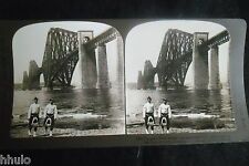 STB369 Ecosse Scotland Grand pont Bridge stereoview photo STEREO albumen
