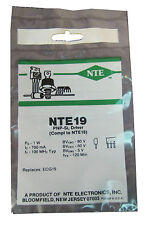 """NTE19 Silicon PNP Transistor: High Voltage, High Current: """"M"""" Type Case: New"""