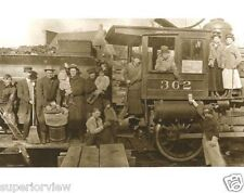 Womens Suffrage Railroad Suffragettes Working On Train Men With Babies Michigan
