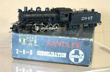 UNITED SCALE MODELS PFM JAPAN BRASS SANTA FE 2-8-0 CONSOLIDATION CLASS LOCO my