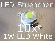 10x 1W High-Power LED Emitter Kaltweiss 350mA