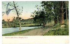 Bangall NY - DRIVE AROUND HUNNS LAKE - Postcard