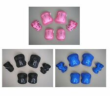 Roller Blading Wrist Elbow Knee Pads Blades Guard 6 Pcs Set For Youth