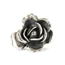 AUTHENTIC TROLLBEAD ROSE OF JUNE 51743 ROSA DI GIUGNO