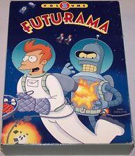 FUTURAMA Volume 3 Three (2009, 4-DVD Set) *SHIPS OUT FAST Mon-Sat!
