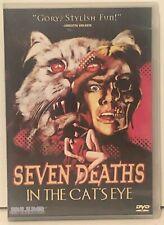SEVEN DEATHS IN THE CAT'S EYE (1973) Italian Horror - BLUE UNDERGROUND DVD