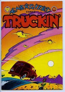 TRUCKIN' #2 - Comix - 1st printing - Flip book