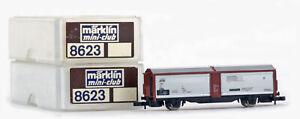 ONE MARKLIN Z Gauge MINI-CLUB 8623 DB Sliding Door Wagon *