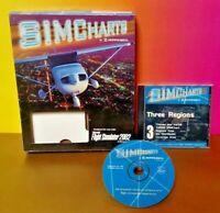 SIMCharts 2.0 Eastern U.S PC CD Jeppesen enroute aeronautical flight sim Rare !