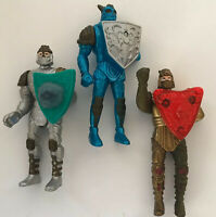 McDonalds happy meal toys vintage 1990s Mystic Knights Lot Of 3