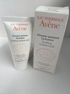 NEW Avene Soothing Moisture Mask Sensitive Skin 1.69 fl oz / 50 ml Full Size NIB