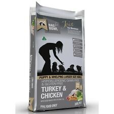 Meals for Mutts Premium Puppy Grain Dry Dog Food Turkey Chicken 20kg