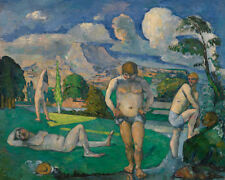 Bathers at Rest by Paul Cézanne 60cm x 48cm Art Paper Print