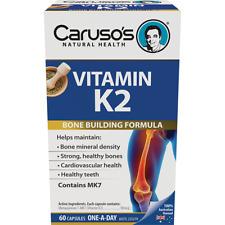 CARUSOS HEALTH VITAMIN K2 60 CAPSULES
