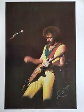 Carlos Santana Poster 1983 Rock