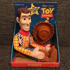 Toy Story 2 Sheriff Woody Doll - The Perfect Size To Cuddle With - New Unopened