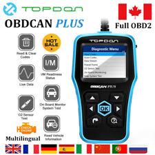 TOPDON OBDCAN PLUS 2.0 OBD2 OBDII Scanner Automotive Car Diagnostic Scanner Tool