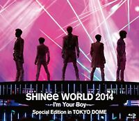 SHINee [SHINee WORLD 2014~I'm Your Boy~ Special Edition in TOKYO DOME] Blu-Ray