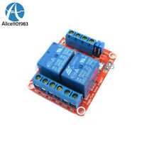 DC9V 2Channel Optocoupler Driver High/Low Level Trigger Power Relay Module