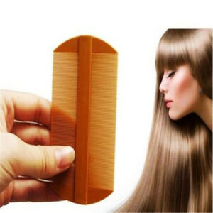Creative Double Sided Nit Combs for Head Lice Detection Comb Kids Pet SG