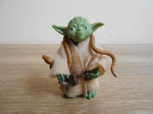 Vintage Star Wars Yoda Original Kenner 1980 No Coo Brown Snake