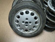 "Alfa Romeo Spider UNUSED SPARE 15"" ALLOY WHEEL AND PIRELLI TIRE 1986-94 Quad"