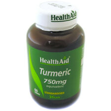 Health Aid Turmeric (Curcumin) Root Extract 60 tablets