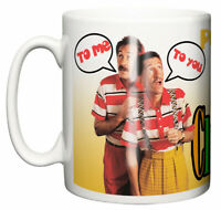 Dirty Fingers Mug, Chucklevision Chuckle Brothers Paul Barry TV series Gift