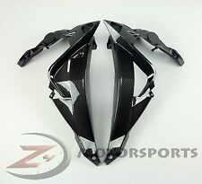 2014-2017 S1000R Front Side Radiator Guard Panel Cover Fairing Cowl Carbon Fiber