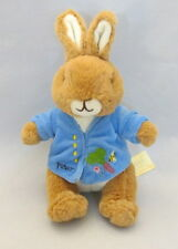 Peter Rabbit plush toy Beatrix Potter soft bunny 8 inch Easter