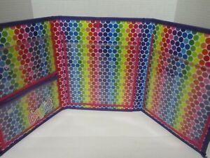 2016 Lisa Frank Unicorn Trifold Portfolio School Binder Folder 10x13
