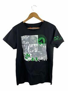 Airwalk Men's T Shirt Size L Black Short Sleeve Logo Casual Crew Neck