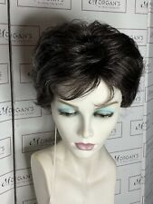Señoras Corto Wigs Reino Unido Rene Of Paris, amanecer en una mezcla gris oscuro sin caja no se aceptan devoluciones