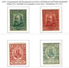 Italia Regno 1910 : Risorgimento e Plebiscito - MLH*, leggera traccia linguella