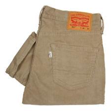 Jeans da uomo beigi marca Levi ' s Taglia 32