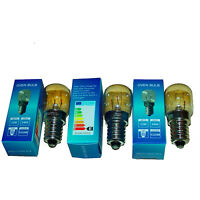 Salt Lamp Bulb 3 x 15 Watt Oven E14 Appliance Pygmy SES 300c Heat Resistant