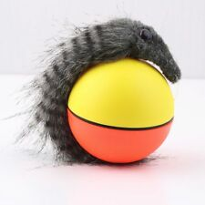 W@dog Cat Weasel Motorized Funny Rolling Ball Pet Appears Jump Moving Alive Toy@