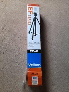 Velbon EF-41 57 inch Tripod.