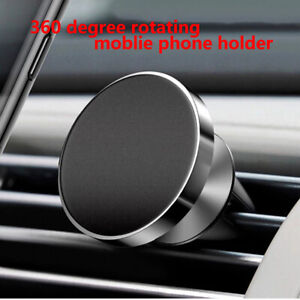 Phone Holder In Car Mobile Fastening Stand For Smartphone Magnetic Magnet Auto