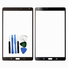 Per Samsung Galaxy Tab S 8.4 Front Outer Glass Screen Lens Nero T700 T705 Tools