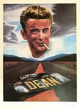 James Dean, Ltd. Ed. lithograph by Dante, hand signed
