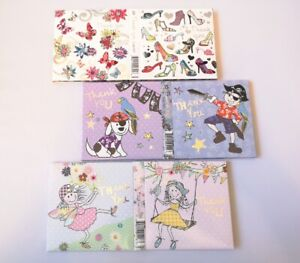 Pack of 10 Thank You Card Different designs for Teacher/Friends/Anyone