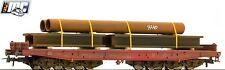 Roco H0 67586 Schwerlastwagen der DB AG beladen mit Stahlrohr - NEU + OVP
