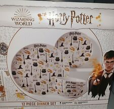 More details for harry potter 12 piece dinner set - selling fast while stock last new
