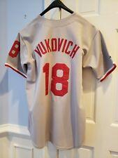 John Vukovich #18 Philadelphia Phillies Genuine Majestic Merchandise Jersey Lg